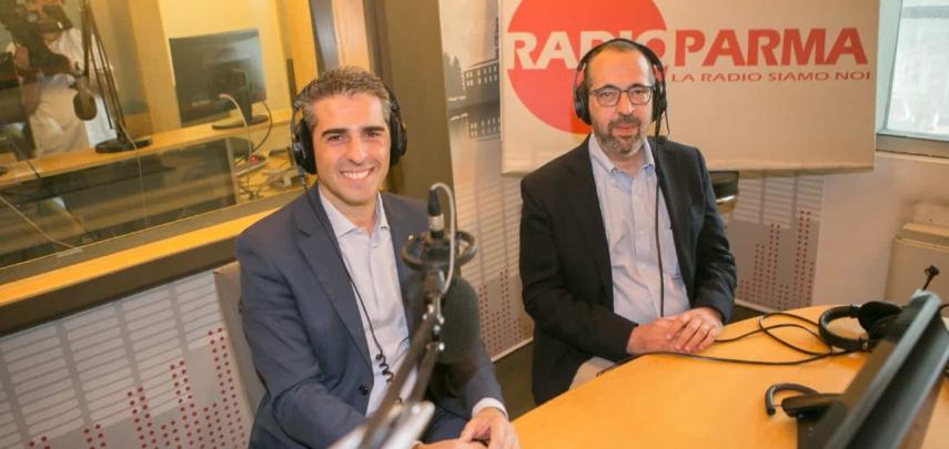 Claudio Rinaldi e Federico Pizzarotti